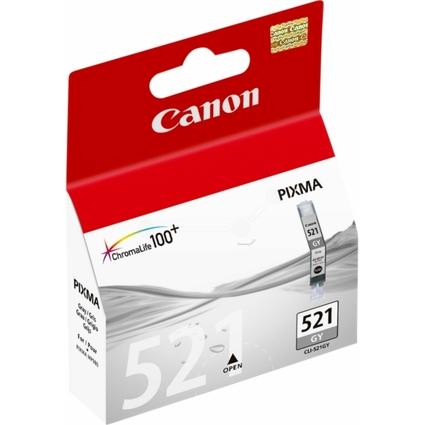Original Tinte für Canon PIXMA MP980, CLI-521, grau