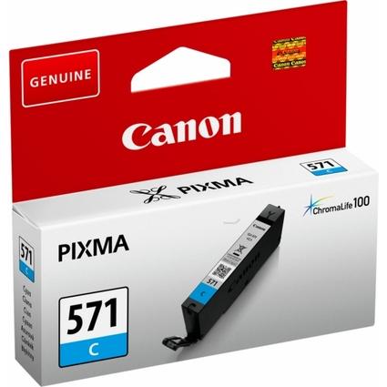 Original Tinte für Canon PIXMA MG5700, CLI-571, cyan