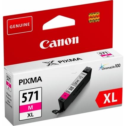 Original Tinte für Canon PIXMA MG5700, CLI-571, magenta HC