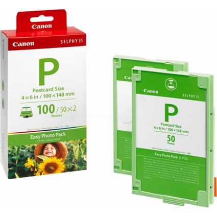 Original E-P100 Easy Foto Pack für Canon Selphy ES1