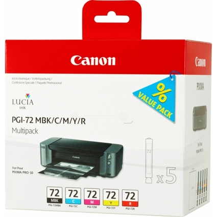 Original Multipack für Canon Pixma Pro 10