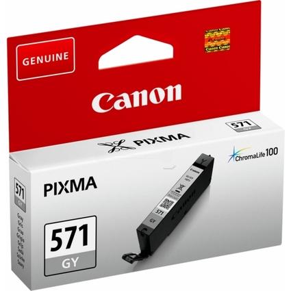 Original Tinte für Canon PIXMA MG5700, CLI-571, grau