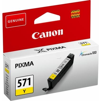 Original Tinte für Canon PIXMA MG5700, CLI-571, gelb