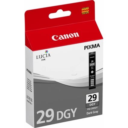Original Tinte PGI-29 für Canon Pixma Pro, dunkelgrau