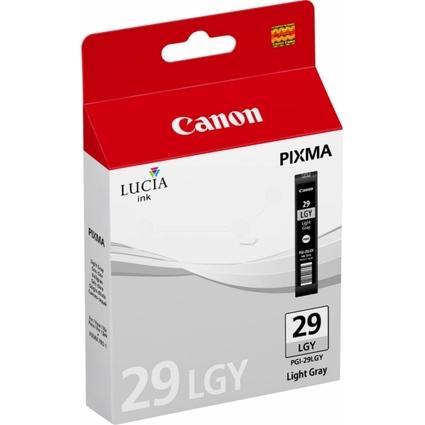 Original Tinte PGI-29 für Canon Pixma Pro, hellgrau