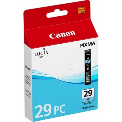 Original Tinte PGI-29 für Canon Pixma Pro, foto cyan