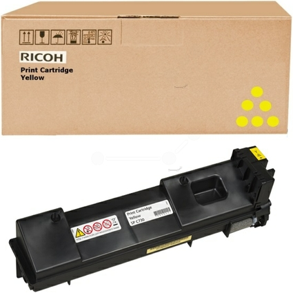 Original Toner für RICOH Laserdrucker Aficio SPC730, gelb