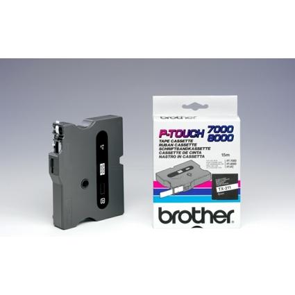 brother TX-Tape TX-211 Schriftbandkassette, Bandbreite: 6 mm