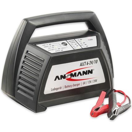ANSMANN KFZ-Batterieladegerät, 6 / 12 und 24 Volt