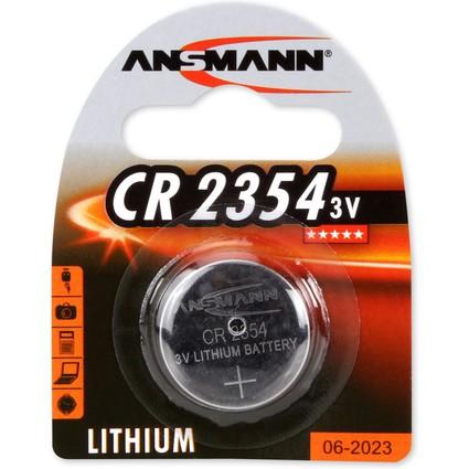 ANSMANN Lithium Knopfzelle CR2354, 3 Volt, 1er Blister