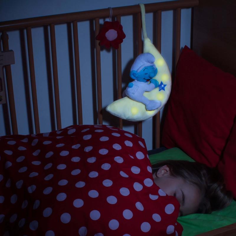 ansmann kuscheltier nachtlicht mondlicht baby schlumpf 1800 0051 bei g nstig. Black Bedroom Furniture Sets. Home Design Ideas