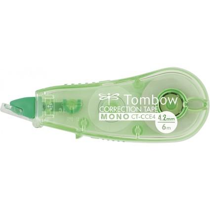 "Tombow Korrekturroller ""MONO CT-CCE4"", 4,2 mm x 6 m, grün"