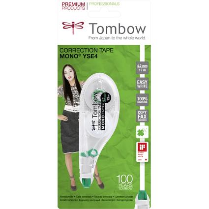 """Tombow Korrekturroller """"MONO CT-YSE4"""", 4,2 mm x 12 m"""