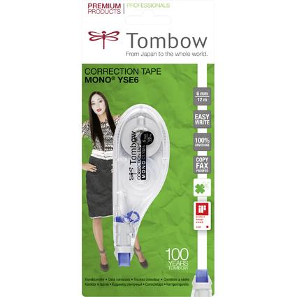 """Tombow Korrekturroller """"MONO CT-YSE6"""", 6,0 mm x 12 m"""