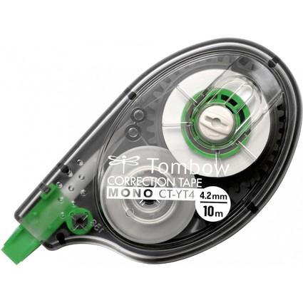 """TOMBOW Korrekturroller """"MONO CT-YT4"""", 4,2 mm x 10 m, Blister"""