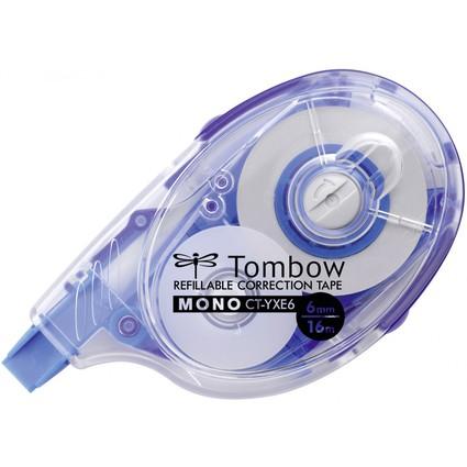 """TOMBOW Korrekturroller """"MONO CT-YXE6"""", 6,0 mm x 16 m"""