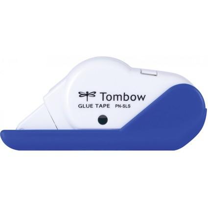 "Tombow Einweg-Kleberoller ""GLUE TAPE SLS"", weiß / blau"