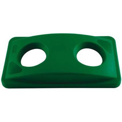 Rubbermaid Deckel Slim Jim für Flaschen, grün
