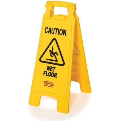 """Rubbermaid Warnschild """"Caution Wet Floor"""""""