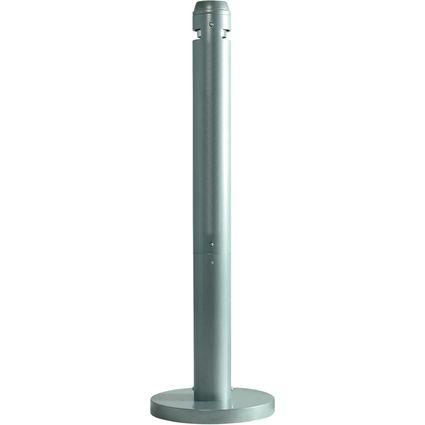 Rubbermaid Standascher Smokers' Pole, rund, silber