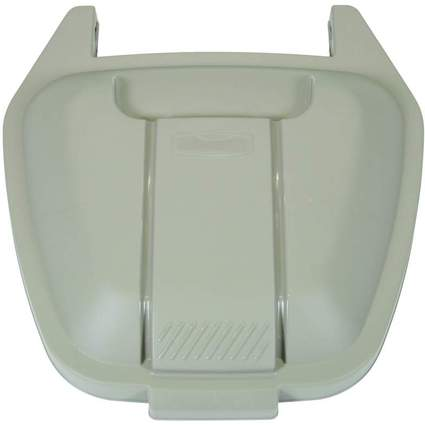 Rubbermaid Deckel für Abfall-Rollcontainer, PP, beige