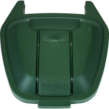 Rubbermaid Deckel für Abfall-Rollcontainer, PP, grün