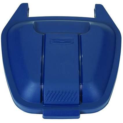 Rubbermaid Deckel für Abfall-Rollcontainer, PP, blau