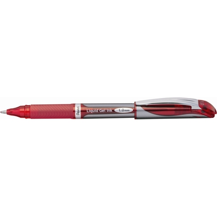 Pentel Liquid Gel-Tintenroller EnerGel BL60, rot