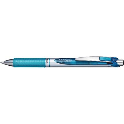 Pentel Liquid Gel-Tintenroller Energel BL77, hellblau