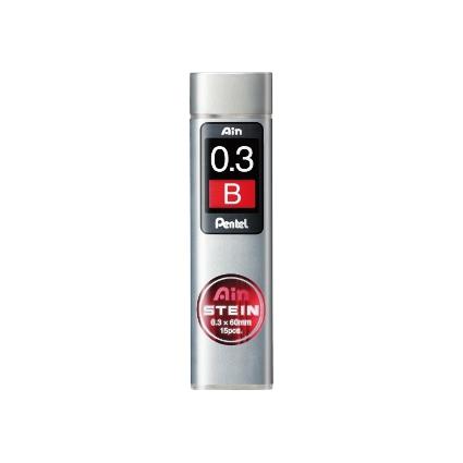 Pentel Druckbleistift-Feinmine AIN STEIN C273, Härtegrad: B