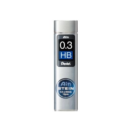 Pentel Druckbleistift-Feinmine AIN STEIN C273, Härtegrad: HB