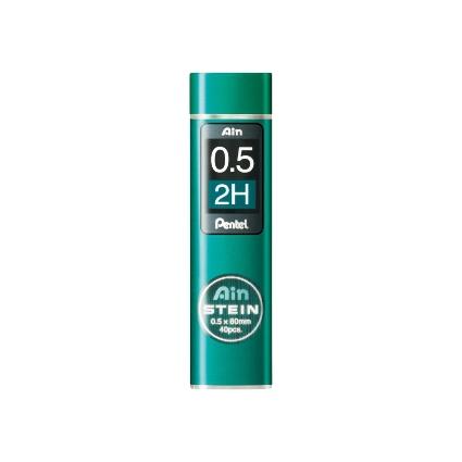 Pentel Druckbleistift-Feinmine AIN STEIN C275, Härtegrad: 2H