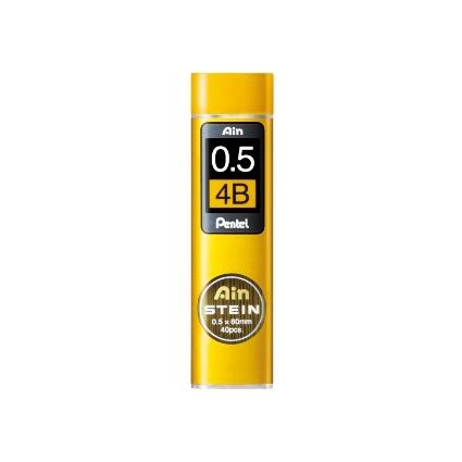 Pentel Druckbleistift-Feinmine AIN STEIN C275 Härtegrad: 4B