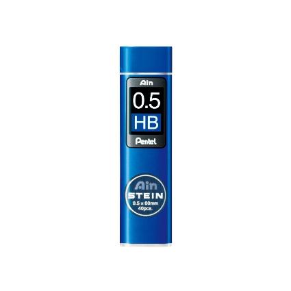 Pentel Druckbleistift-Feinmine AIN STEIN C275, Härtegrad: HB