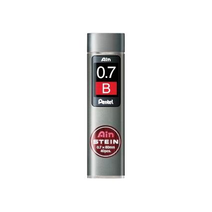 Pentel Druckbleistift-Feinmine AIN STEIN C277, Härtegrad: B