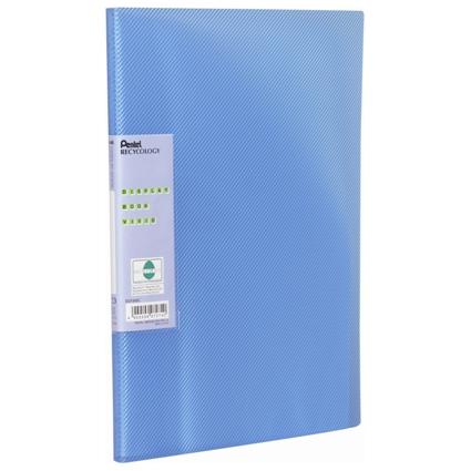 Pentel Sichtbuch Vivid, DIN A4, PP, 30 Hüllen, blau