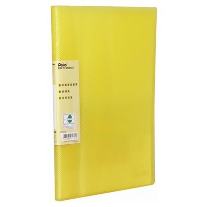 Pentel Sichtbuch Vivid, DIN A4, PP, 30 Hüllen, gelb