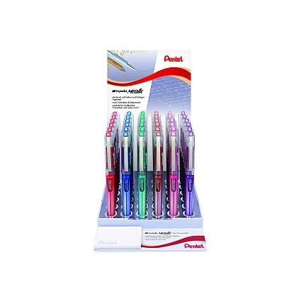 Pentel Gel-Tintenroller K230, farbig sortiert, Display