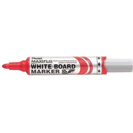 Pentel Whiteboard-Marker MAXIFLO MWL5M, rot