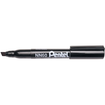 Pentel Permanent-Marker GREEN-LABEL NN60, schwarz