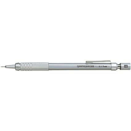 Pentel Druckbleistift GRAPHGEAR 500, Minenstärke: 0,3 mm