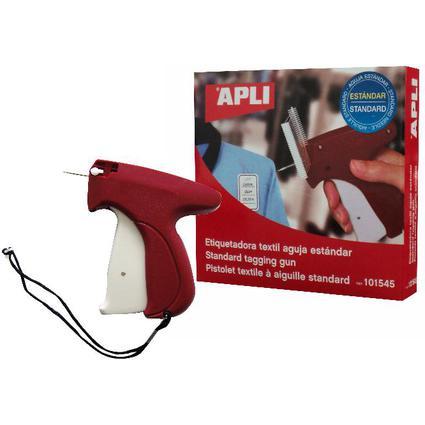 agipa Anschießpistole zur Warenkennzeichnung, rot/weiB