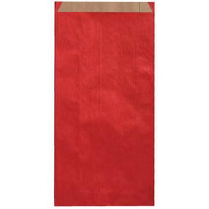 agipa Geschenkumschläge - aus Kraftpapier, klein, rot