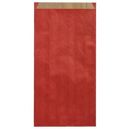 agipa Geschenkumschläge - aus Kraftpapier, mittel, rot