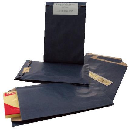 agipa Geschenkumschläge - aus Kraftpapier, klein, blau