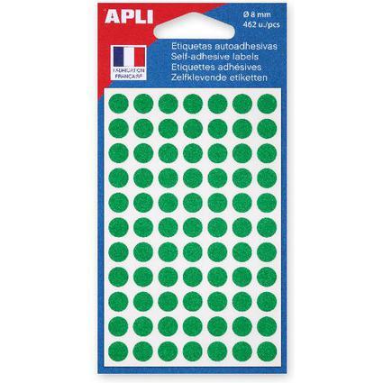 agipa Markierungspunkte, Durchmesser: 8 mm, rund, grün