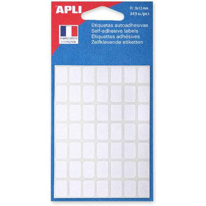 agipa Vielzweck-Etiketten, 9 x 13 mm, weiß