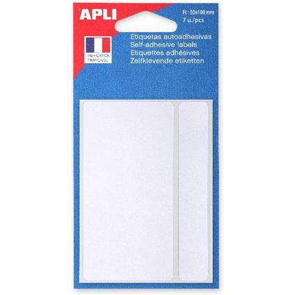 agipa Vielzweck-Etiketten, 50 x 100 mm, weiß