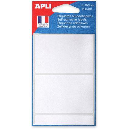 agipa Vielzweck-Etiketten, 50 x 77 mm, weiß