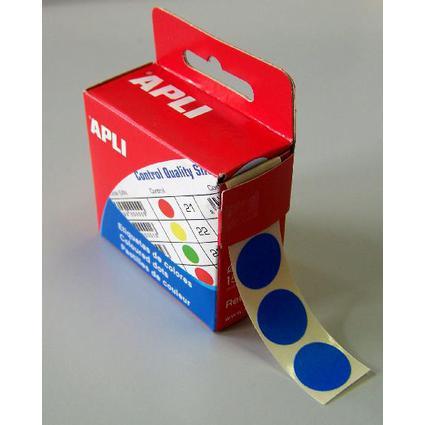 agipa Markierungspunkte, Durchmesser: 15 mm, rund, blau